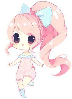 Piyama Pajamas Tsum2 Draw Pink chibi on chibi kawaii and
