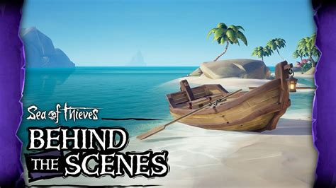 rowboat sea of thieves official sea of thieves behind the scenes rowboats youtube