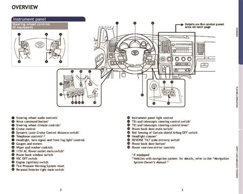 service manual small engine repair training 2009 toyota sequoia interior lighting service
