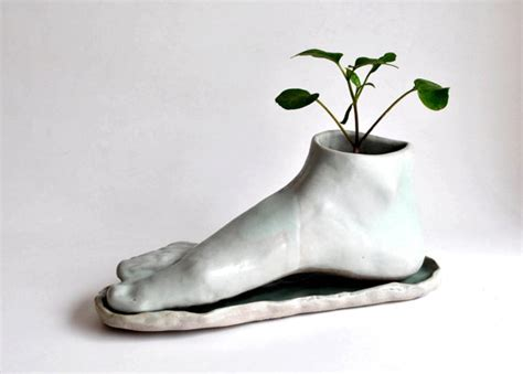 Foot Planter by Items Similar To Planter Foot On Etsy