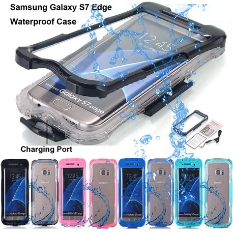 samsung galaxy  edge  shockproof waterproof dirt proof case full cover ebay