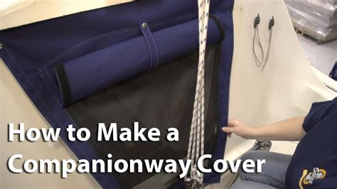 How To Make Cover by How To Make A Companionway Cover