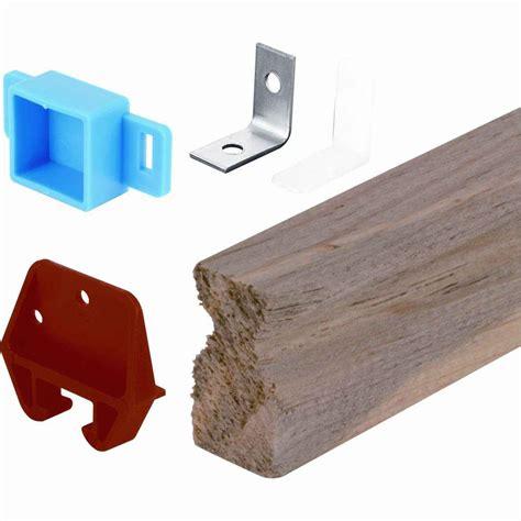 wooden drawer track kit prime line 24 in wooden drawer track kit r 7144 the