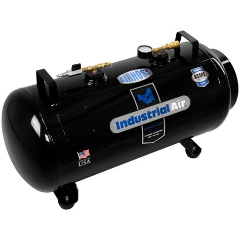 industrial air 20 gal asme portable auxiliary air tank it20asme the home depot