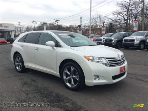 2012 Toyota Venza For Sale 2012 Toyota Venza Limited Awd In Blizzard White Pearl