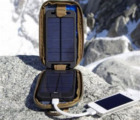 outdoor gadgets battery equipped portable solar charger is perfect for