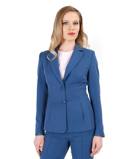 Jacket With Pockets by Office Jacket With Pockets And Faux Leather Trim Metallic
