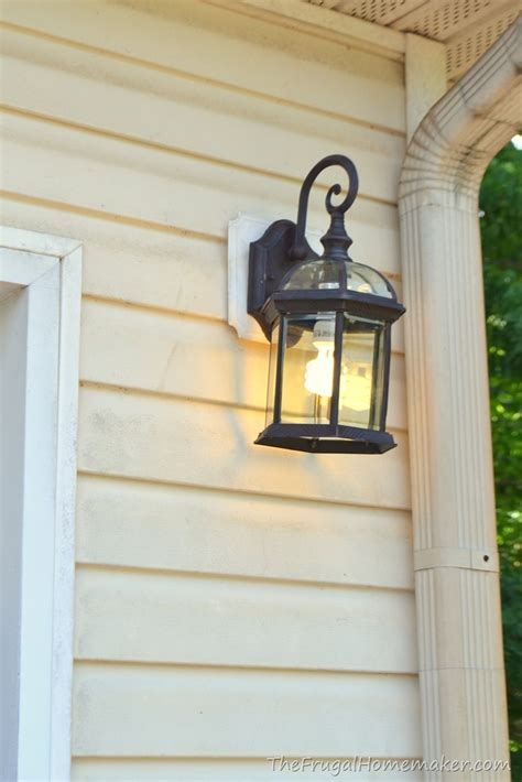 Changing Outdoor Light Fixture Outdoor Light Fixture Change Up