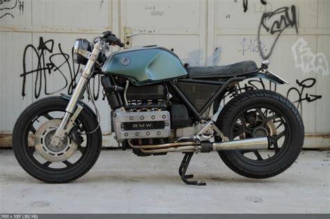 custom motorcycle bmw k100 tatanka sometimes nothing
