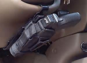 Steering Wheel Holster Car Steering Column Mount Holster Sold Separately