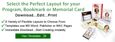 home layout program funeral program layouts funeral program designs