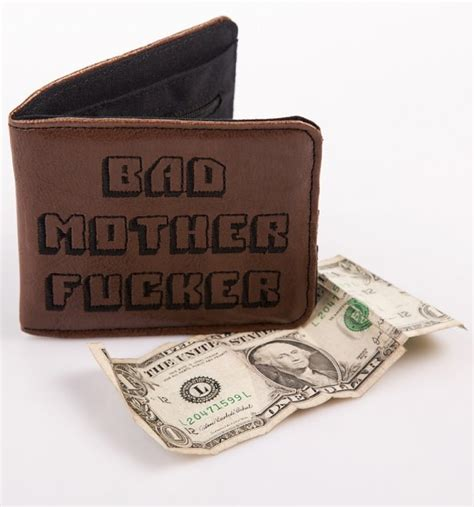 gifts for pulp fiction pulp fiction inspired bad mother f r wallet ebay