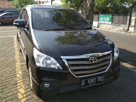 Jual Alarm Mobil Innova jual toyota innova tipe g luxury thn 2014 bensin