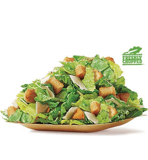 Backyard Burger Salad Calories Caesar Garden Fresh Salad Burger King 174