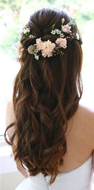 brunette bride hairstyles 20 amazing half up half down wedding hairstyle ideas