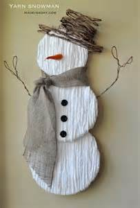 Cute yarn snowman cute yarn snowman wall art