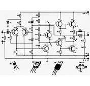 Audio Amplifier 90 100W With 2N3773