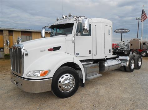 used 2010 peterbilt 384 tandem axle sleeper for sale in ms