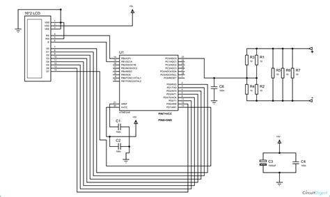 ac ammeter wiring diagram for digital ammeter wiring