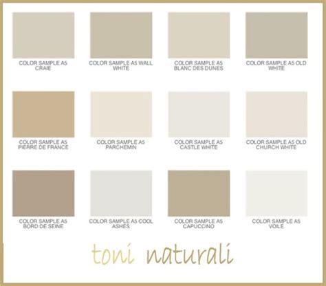 Color Tortora Beige by Le Tonalit 224 Naturali Dall Avorio Al Beige Al Color