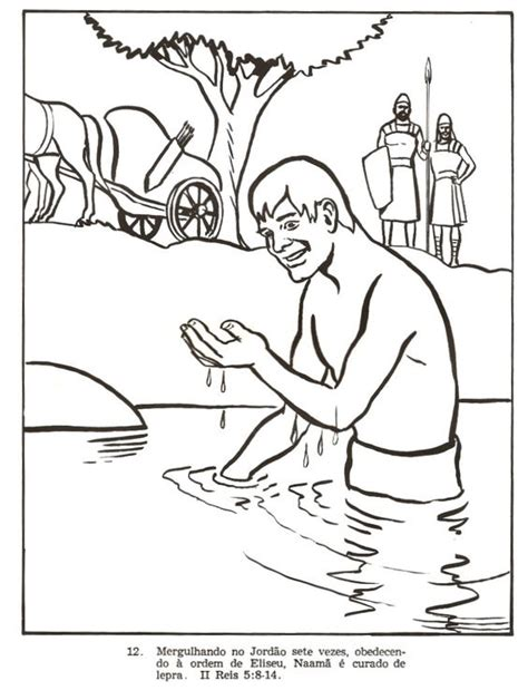 free bible coloring pages naaman naama2 jpg 782 215 1038 naaman