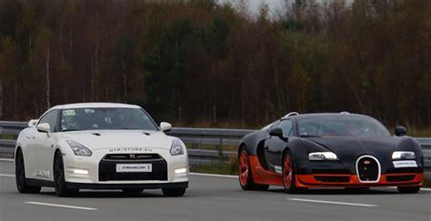 nissan skyline gtr vs bugatti 4k race nissan gtr alpha 12 vs bugatti veyron vitesse