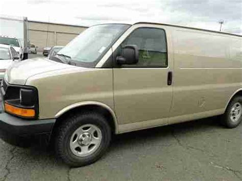 2007 chevrolet express 1500 purchase used 2007 chevrolet express 1500 series awd cargo van in salem oregon united states
