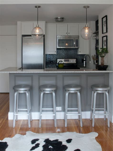 Crate & Barrel Spin Stool   Contemporary   kitchen