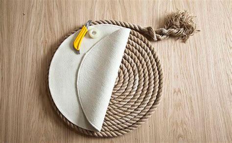 tappeti in corda un elegante tappeto di corda fai da te ispirando