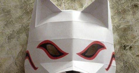 Anbu Mask Papercraft - kakashi anbu mask papercraft jpg