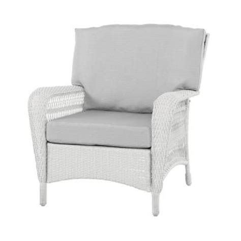 Home Depot Wicker Chairs by Martha Stewart Living Charlottetown White All Weather