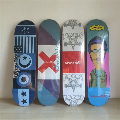Skateboadr Canadian Maple Brun 1 chocolate graphics skateboard deck canadian maple
