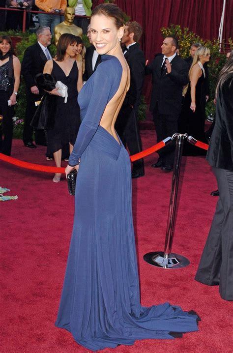 Oscars Carpet Hilary Swank by Juliayunwonder Hilary Swank Dresses