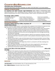 Lawyer Resume Exle by 44 Effective And Simple Attorney Resume Sles That Might