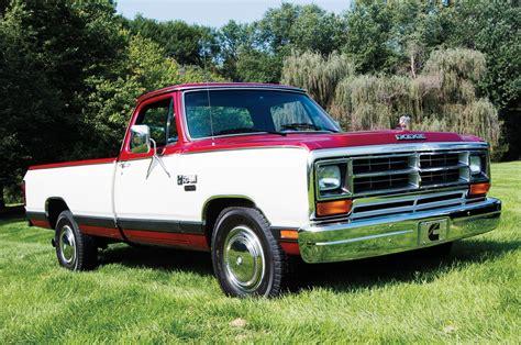 1985 dodge truck 1985 dodge ram cummins d001 development truck