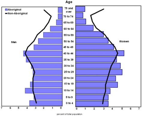 How To Make A Population Pyramid On Paper - canada s population pyramid 2010
