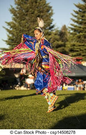 picture of fancy shawl dancer 2 a young native american