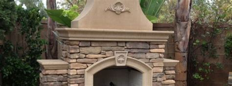 Precast Fireplace Kits by Concrete Outdoor Fireplace Kit Precast Concrete
