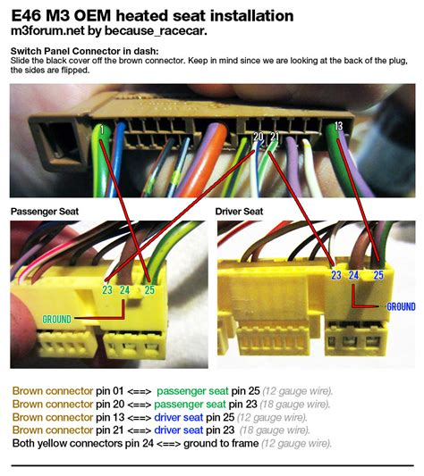 e46 heated seat wiring diagram 30 wiring diagram images