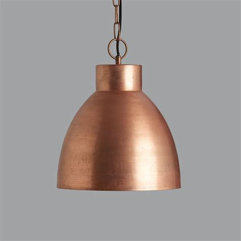 Copper Pendant Lights Vintage Copper Pendant Light