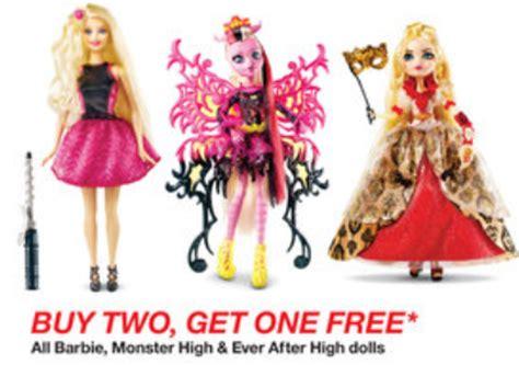 Dollar Store Home Decor Ideas Target Com Buy 2 Get 1 Free On Barbie Monster High