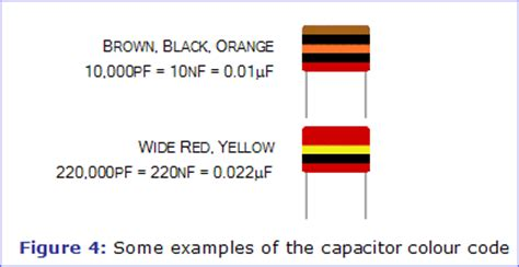 brown capacitor codes capacitors electronics in meccano