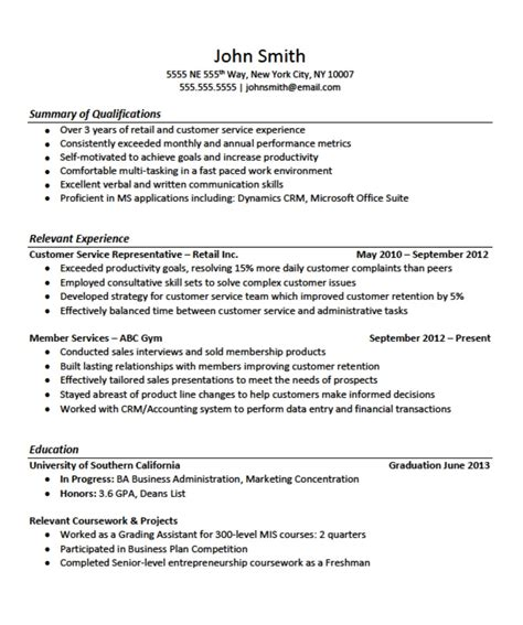 how to write a resume with no work experience sle resume exles no experience svoboda2