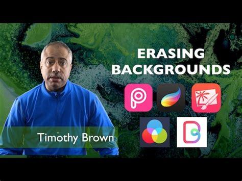 erase backgrounds  ipad apps youtube