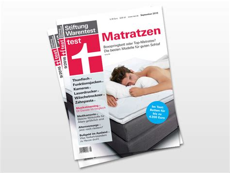 matratzen stiftung warentest stiftung warentest matratzen in 2016 reaktion