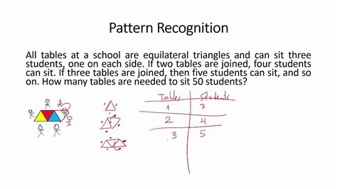 pattern recognition pattern recognition problem solving strategy 2 youtube