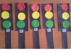 traffic lights craft preschoolers 1 171 funnycrafts