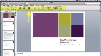 how to use powerpoint narration | howtech