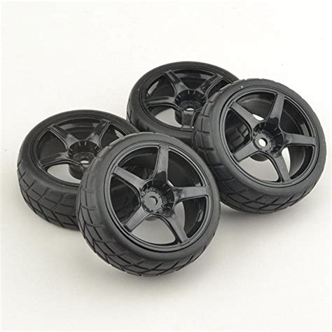 1 10 rubber racing tires wheel for hsp touring on
