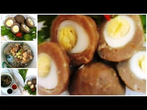 membuat bakso telur cara membuat bakso cara membuat bakso sapi isi telur